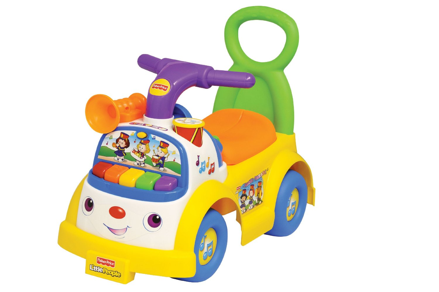 Fisher Price Trotteur moose mountain- porteur fisher-price musical: test et avis